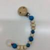 Hess-Spielzeug-Dummy/Teether-Holder-chain-blue