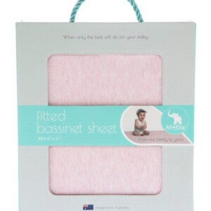 All4Ella-fitted-bassinet-sheet-pink