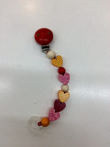 Hess-Spielzeug-Dummy/Teether-Holder-chain-love