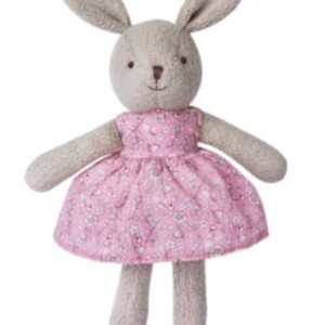 Apple-park-Grey-little-plush-bunny