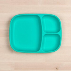 Re-play_large_divided_tray_aqua