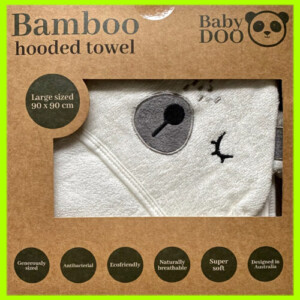 Baby-doo-bamboo-bear-hooded-towel