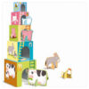 Sassi-Baby-Animals-of-the-Farm-stacking-cubes- tower